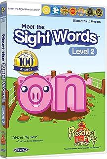 Meet the Sight Words Level 2 DVD
