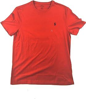 Polo Ralph Lauren Mens Custom Slim Fit Crew Neck T-Shirt