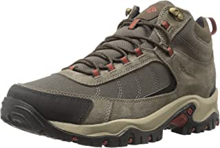Columbia Mens Granite Ridge Mid Waterproof Boot, Breathable, Microfleece Lining