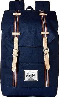 Herschel Supply Co. Retreat Mochila, Medieval Blue Crosshatch/Medieval Blue, Una talla