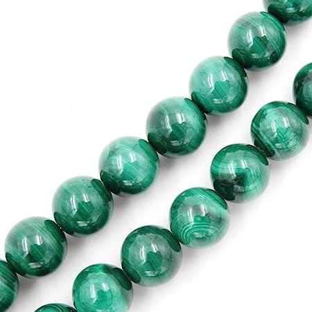 Natural Smooth Malachite Tyre Shape Beads 8mm Gemstone Beads 10 Strand
