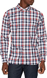 Tommy Hilfiger Tjm Faded Checks Shirt Camicia Uomo