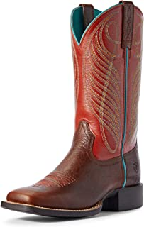 ARIAT Women's Round Up Wide Square Toe Western Boot