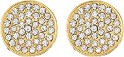 Vince Camuto - Clip Pave Circle Earrings