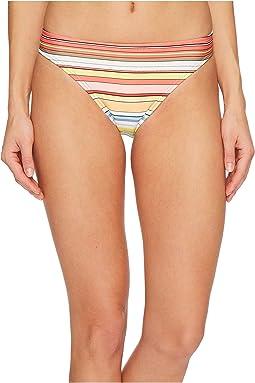 Vince Camuto - Cabana Stripes Classic Bikini Bottoms