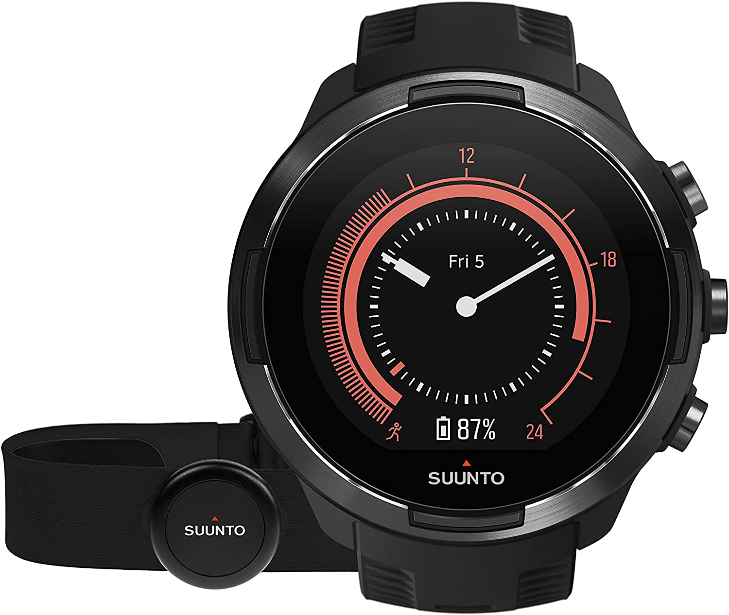 Suunto 9  Durable multisport GPS watch with a long battery life