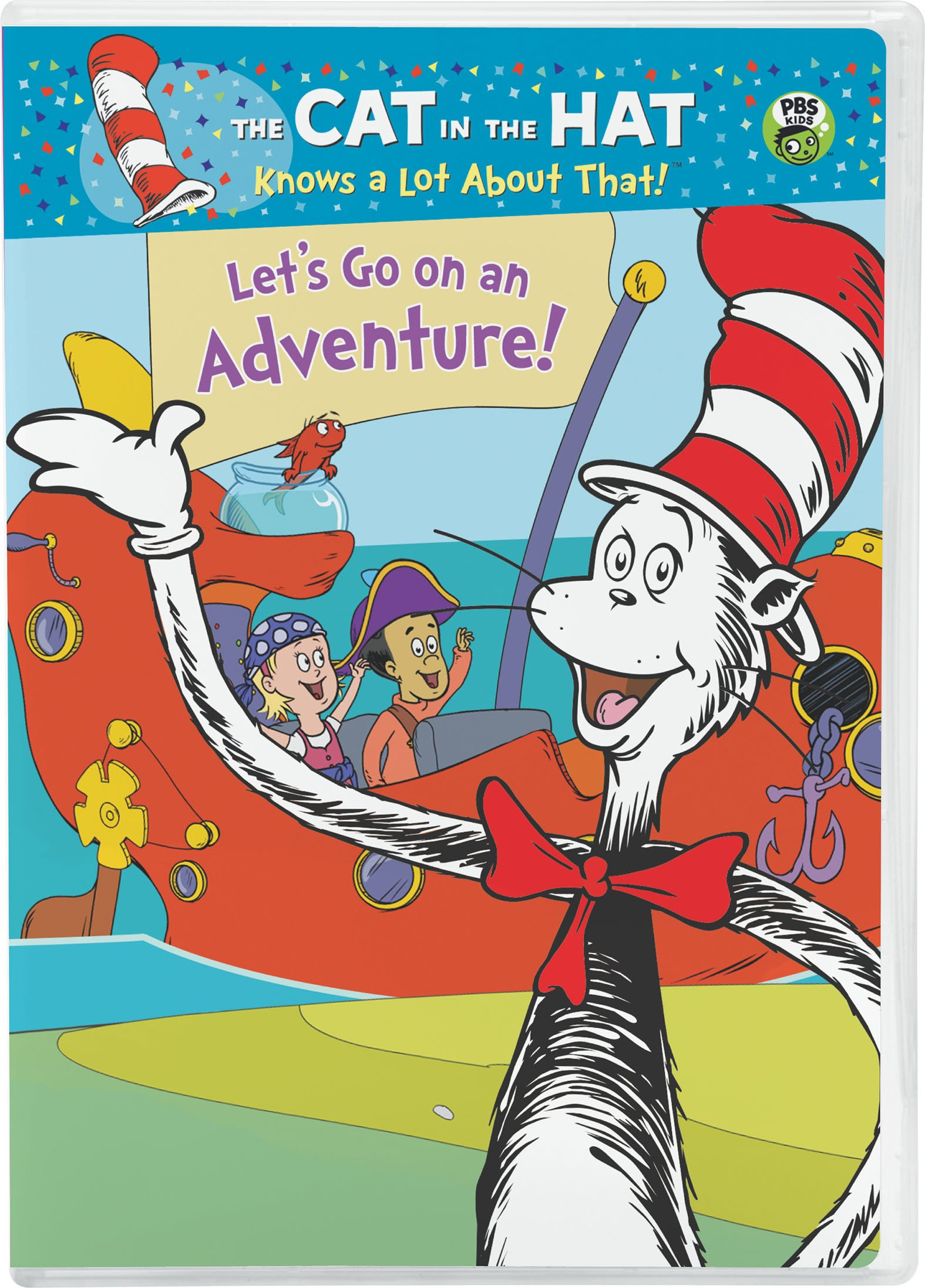 Cat in the Hat: Let's Go on an Adventure!
