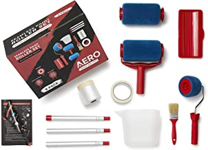 AERO Paint Roller Kit | ALL-IN-ONE 9PCS Paint Roller & Tools Set | Paint Walls and Ceilings with 3-Section Extension Pole ...