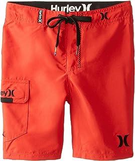 سروال سباحة واحد وفقط من Hurley Little Boys أحمر داكن