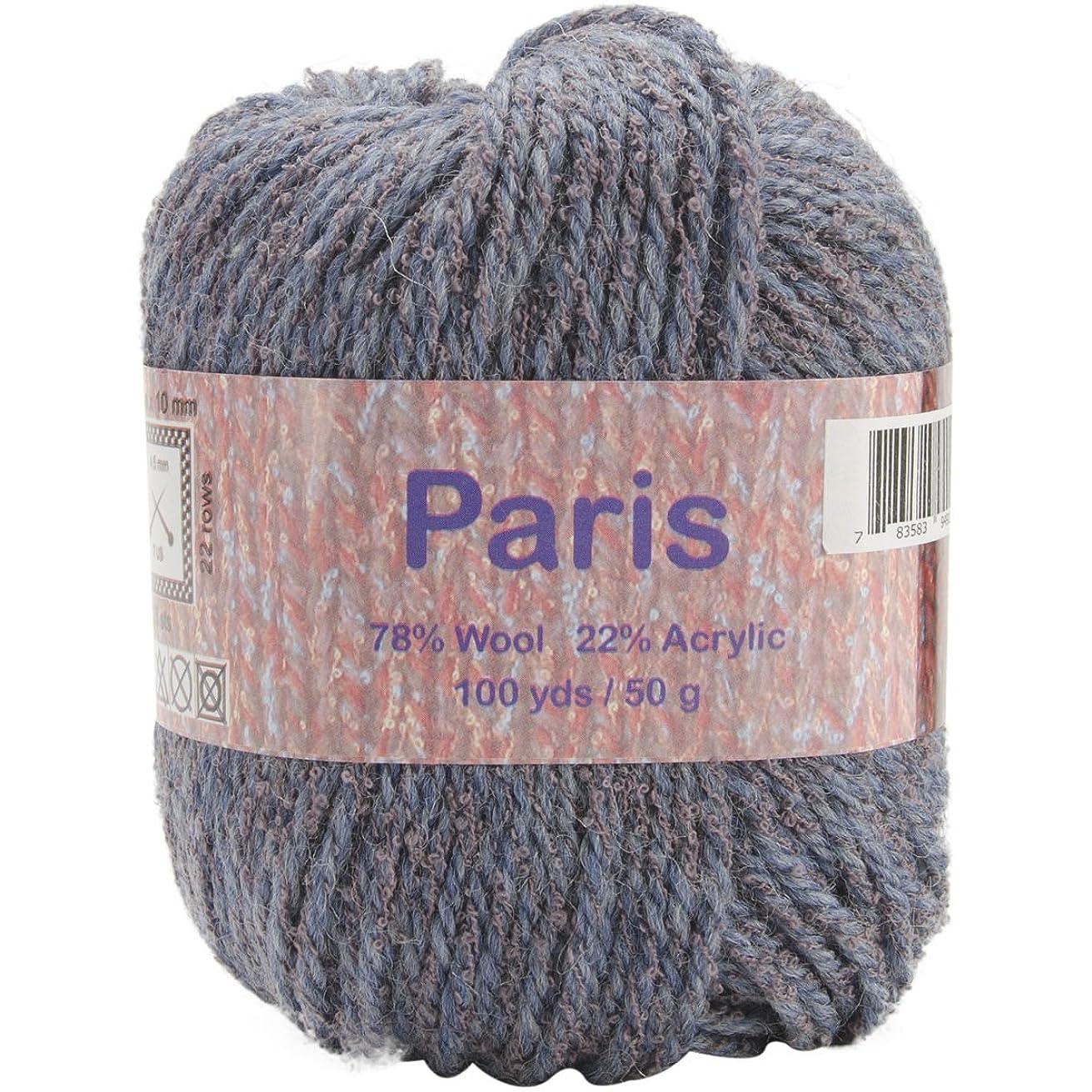 Elegant Yarns Paris Yarn, Slate