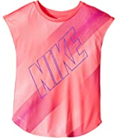 Nike Kids - Wave Gradient Modern Tee (Little Kids)