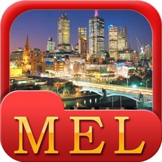 Melbourne Offline Map Travel Guide (Kindle Tablet Edition)