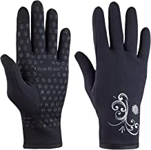 TrailHeads Women�s Running Gloves   Touchscreen Gloves   Power Stretch Winter Running Accessories