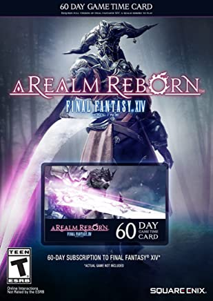 Amazon com: ff14 game time card
