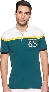 United Colors of Benetton Men's Striped Polo
