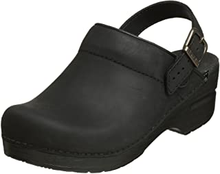 [ダンスコ] Clog Ingrid Black Oiled
