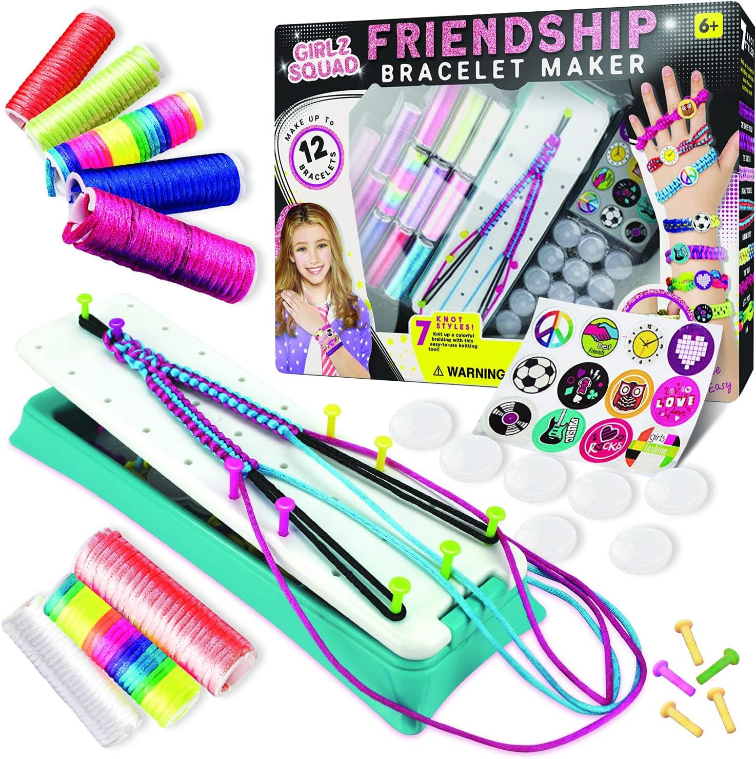 Girlz Philadelphia Mall Squad Friendship Bracelet Albuquerque Mall Making Kit and Boys - Girls for