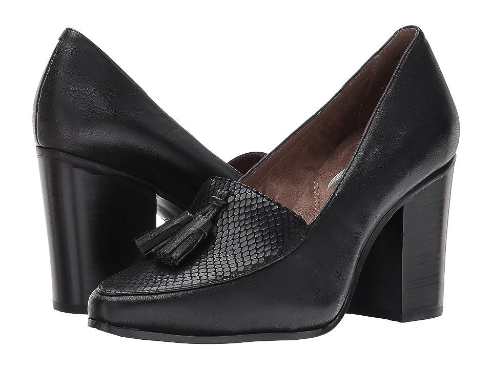 Aerosoles Times Square (Black Leather) High Heels