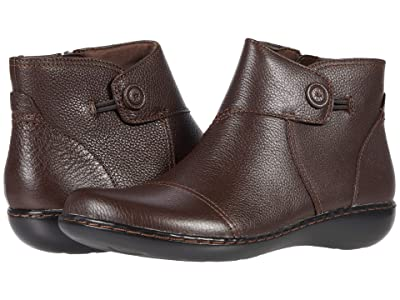 Clarks Ashland Holly (Dark Brown Leather) Women