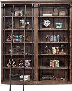 Martin Furniture Avondale 2 Bookcase Wall, Oak