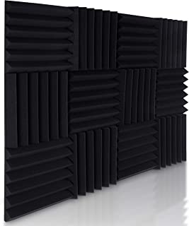 Soundproof Acoustic Foam Panels - 12 Pack 2