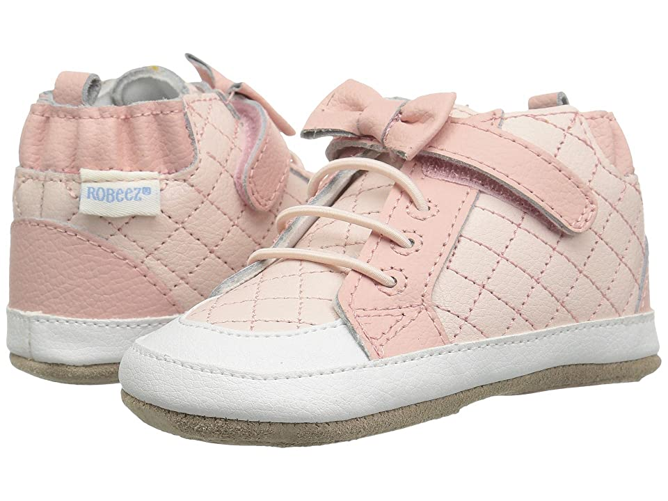 Robeez Primrose High Top Mini Shoez (Infant/Toddler) (Pink) Girl