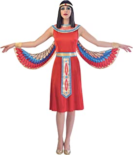 SP Funworld Egyptian Woman Costume with Detachable Wings,Collar,Waistband