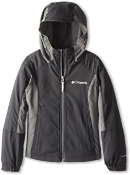 Columbia Kids SplashFlash™ Hooded Softshell Jacket (Little Kids/Big Kids)