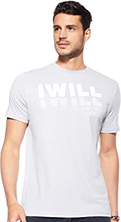 Under Armour Men's I Will 2.0 SS TEES AND T-SHIRTS, Grey (Mod Gray/onyx White), Medium