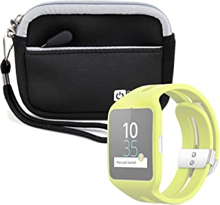 DURAGADGET Estuche De Neopreno Negro para Reloj Sony Smartwatch 3 ...