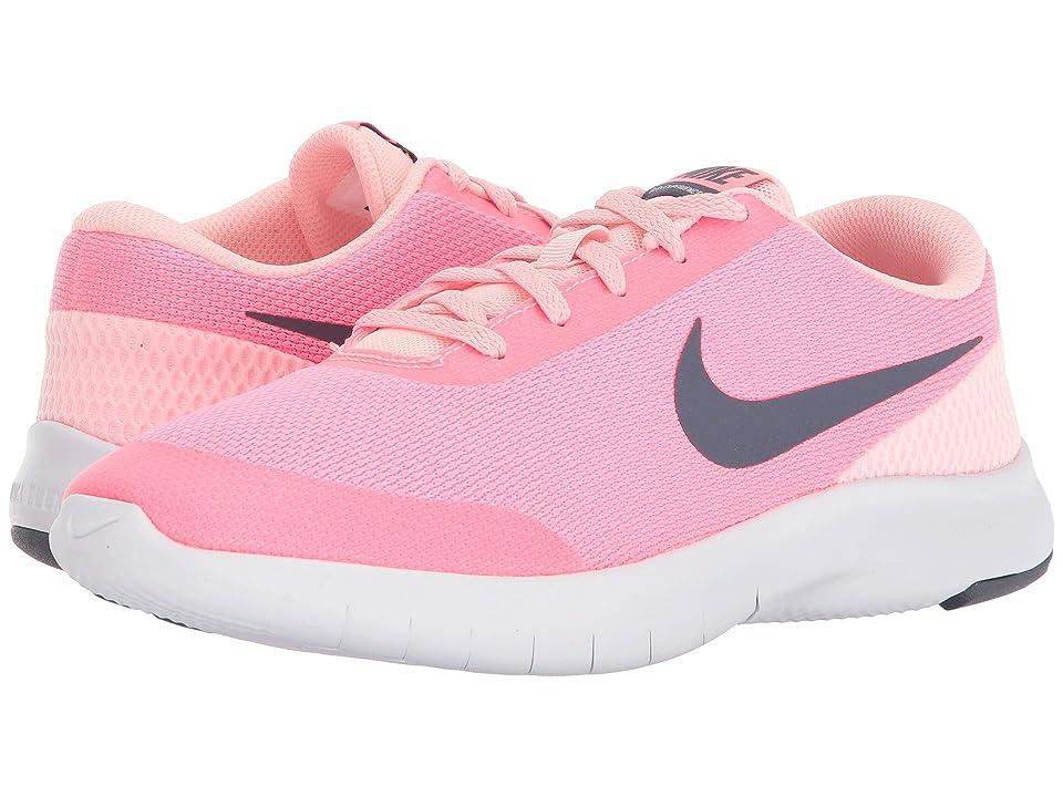 Nike Kids Flex Experience Run 7 (Big Kid) (Arctic Punch/Light Carbon/Sunset Pulse) Girls Shoes