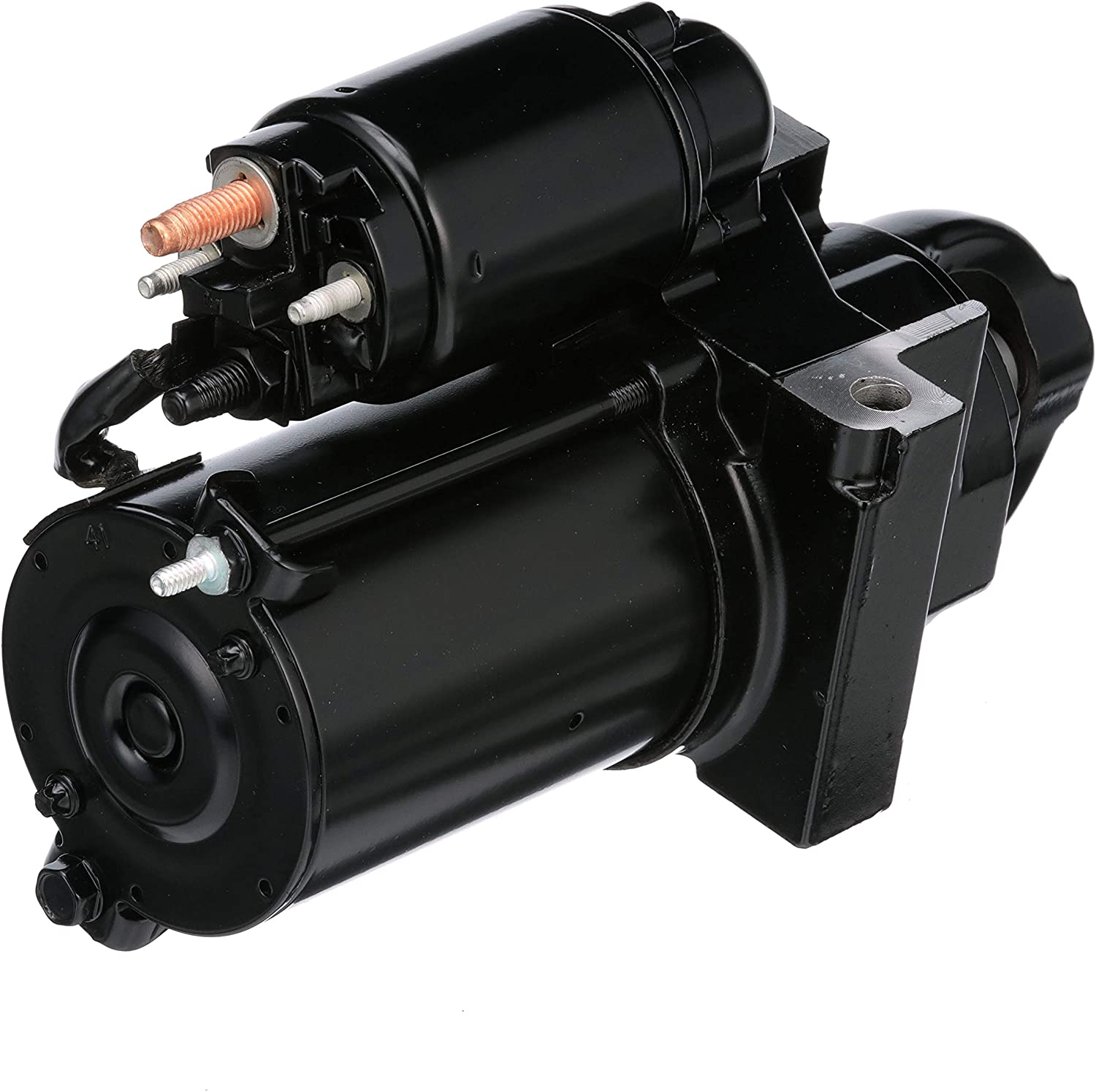 Quicksilver Starter Motor 1 year warranty High material Assembly 863007A1 V-6 - -For Delco and
