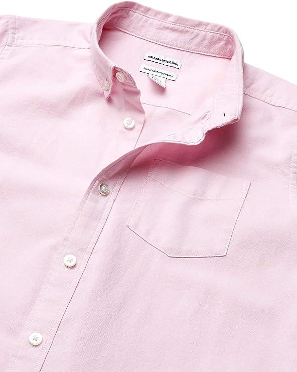 Amazon Essentials Boys Short-Sleeve Uniform Oxford Niños