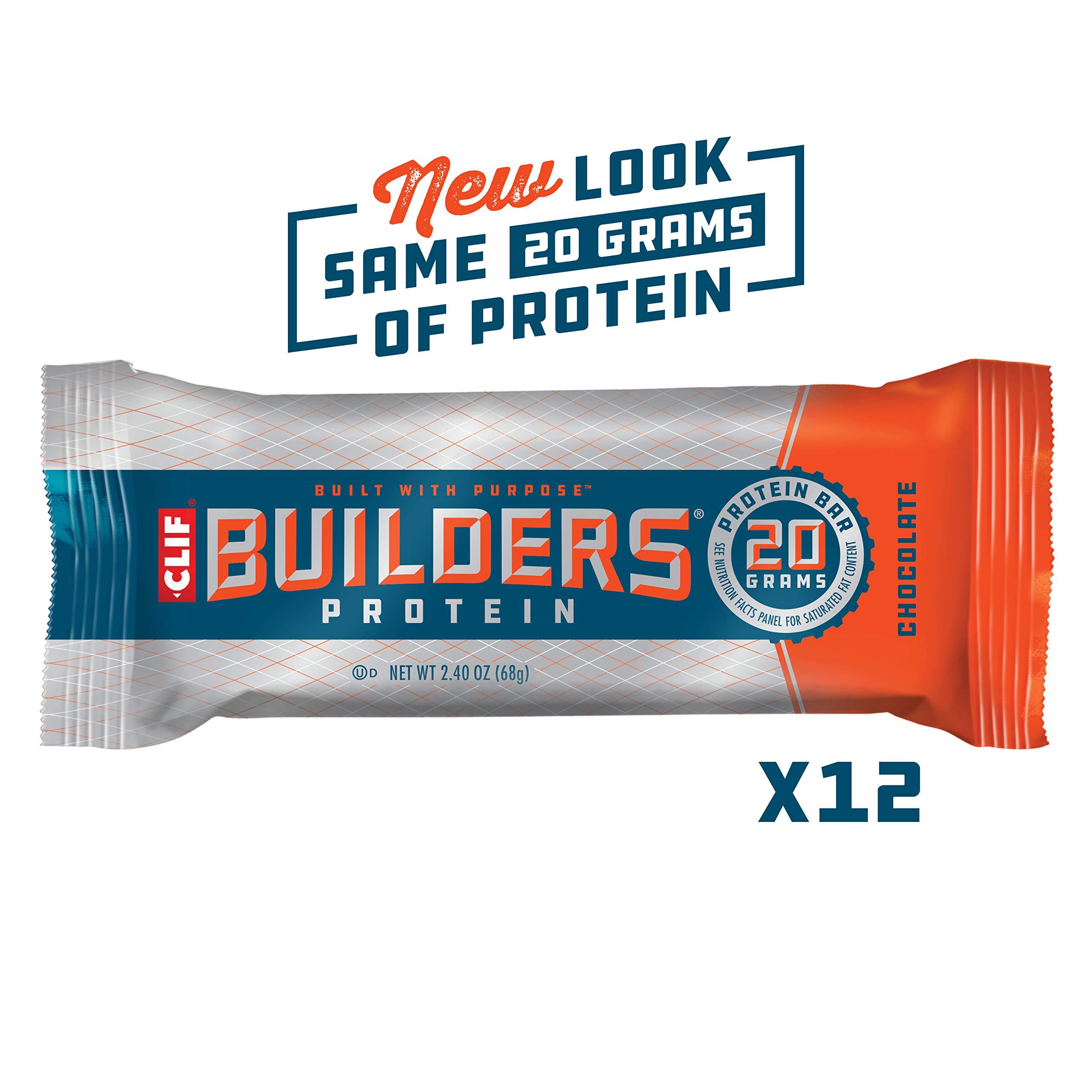 CLIF BUILDERS Protein Chocolate Non GMO