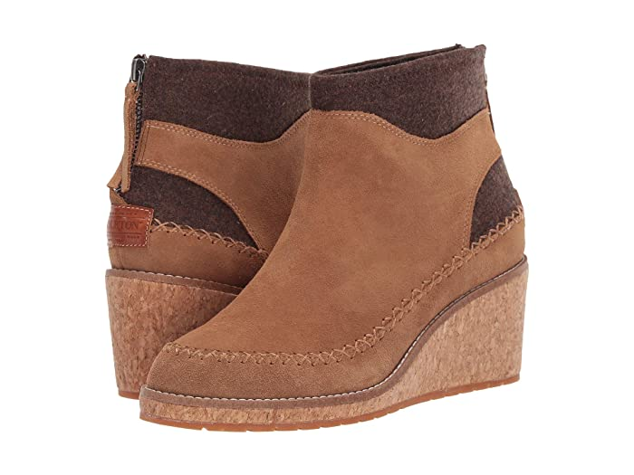 Arago Wedge  Shoes (Toasted Coconut) Women's Boots