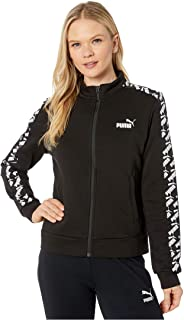 PUMA Women's, Amplified Track Jacket Turquoise, 58121901