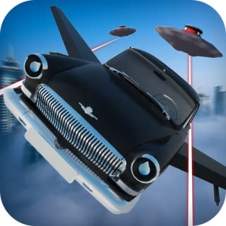 Fly Car Volga Gaz Simulator