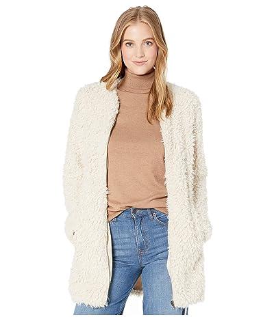 BB Dakota Soft Spot Fleece Jacket (Tan) Women