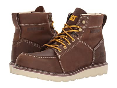 Caterpillar Tradesman (Chocolate Brown Nubuck) Men