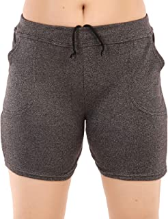 MUKHAKSH (Pack of 1 Girls/Ladies/Women's/Kids Cotton Hot Galander Black Short for Gym/Work Out/Casual & Party Wear
