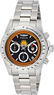 Invicta Men's Character Collection Quartz Watch with Stainless-Steel Strap, Silver, 20 (Model: 24889)