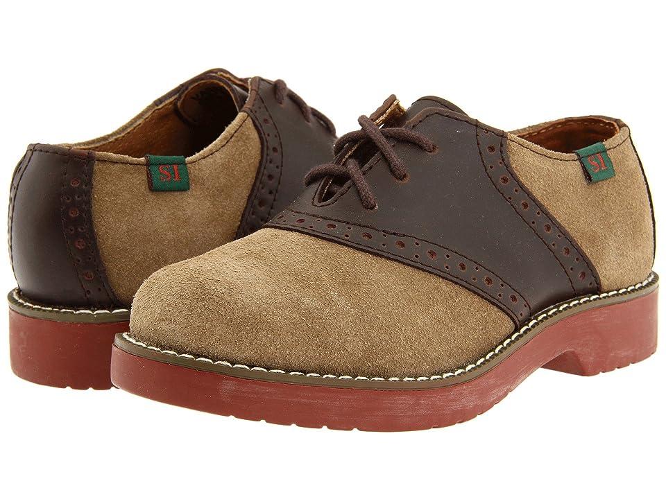 School Issue Varsity (Toddler/Little Kid/Big Kid) (Dirty Buck Suede/Brown) Kids Shoes
