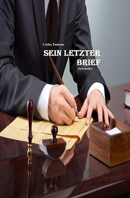 Sein letzter Brief: Mord für einen guten Zweck (German Edition)