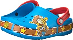 Crocs Kids - Crocband Fun Lab Woody Lights Clog (Toddler/Little Kid)