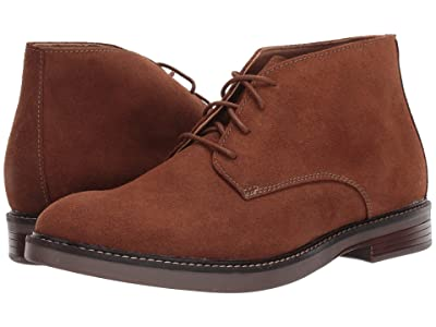 Clarks Paulson Mid (Dark Tan Suede) Men