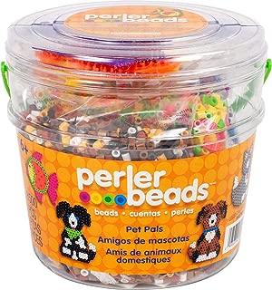 Perler Beads Pet Pals Assorted Fuse Bead Bucket, 8504 pcs