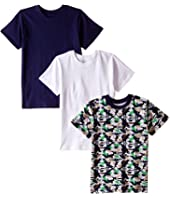 Trimfit - Trimfit Dino Camo Cotton T-Shirts 3-Pack (Toddler/Little Kids/Big Kids)