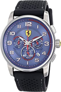 Ferrari Men's 830062 Analog Display Japanese Quartz Black Watch