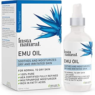 Emu Oil – AEA Certified Pure Moisturizer for Strengthened Hair, Stretch Marks,..