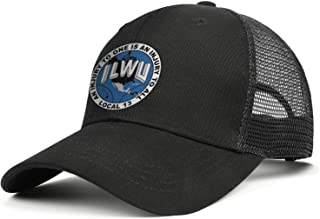 WJINX ILWU Local 13 Men Women Novelty Mesh Snapback Hat Adjustable Sports Golf Cap